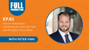 EP.81 Damien Williams on Connecting the Dots With Data and Bringing Culture Home